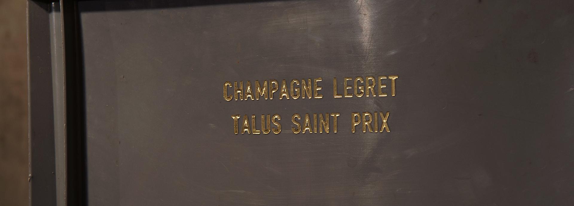 Champagne Legret & Fils à Talus Saint Prix