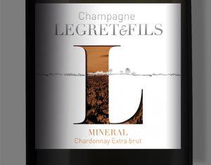 Étiquette champagne Legret & Fils