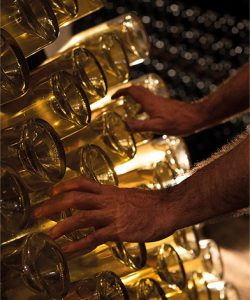 Savoir faire : remuage du champagne