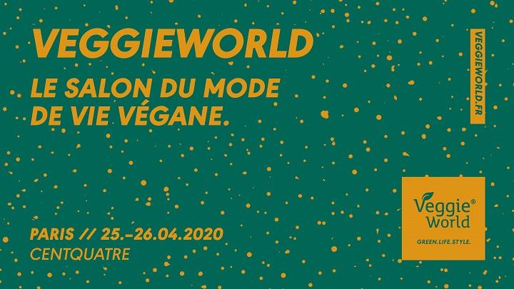Salon Veggie World 25 au 26 avril 2020 : Présence champagnes certifiés vegans