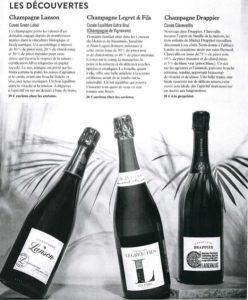 Article saveurs hors série 2019 : Champagne Équilibre