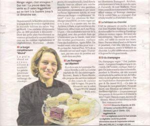 Article Le Progrès : Présentation Domaine Legret & Fils