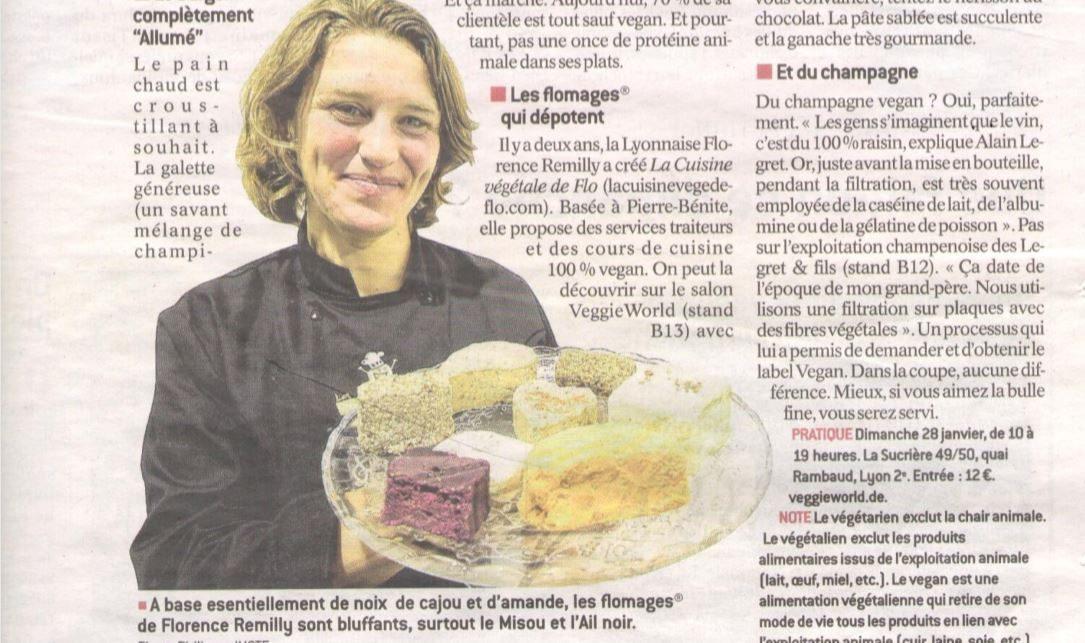 Article Le Progrès : Présentation Domaine Legret & Fils et ses Champagnes vegans